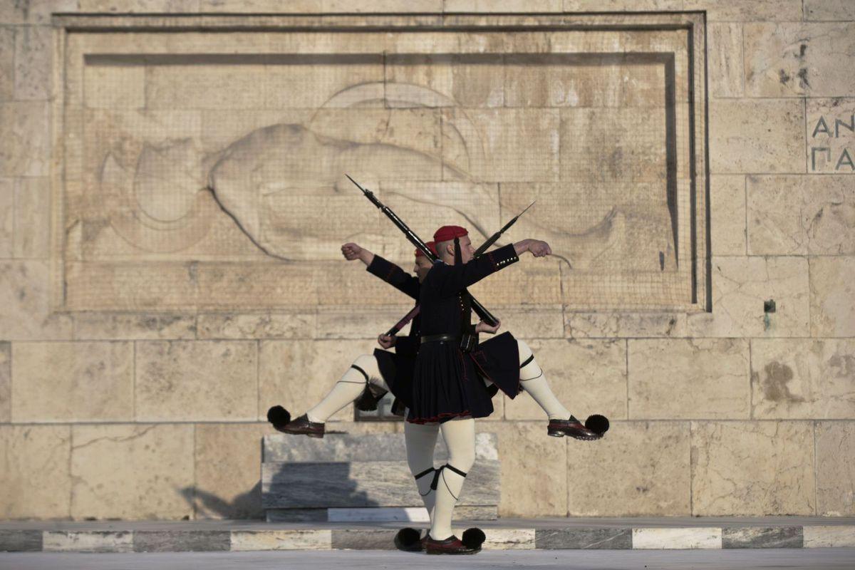 Grécko, stráž