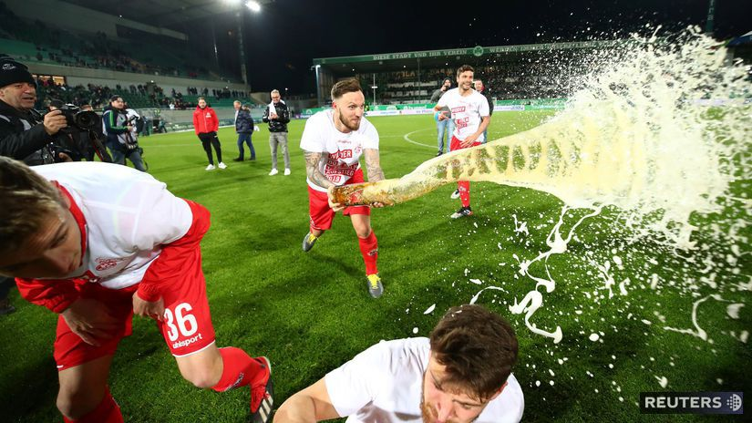 1. FC Kolín, radosť