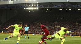 Anglicko futbal LM sefinále 2. Liverpool Barcelona