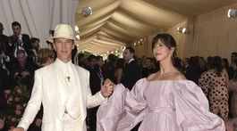 Herec Benedict Cumberbatch a jeho manželka Sophie Hunter.