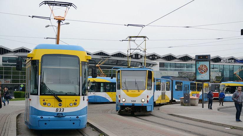 električky, Košice, štrajk