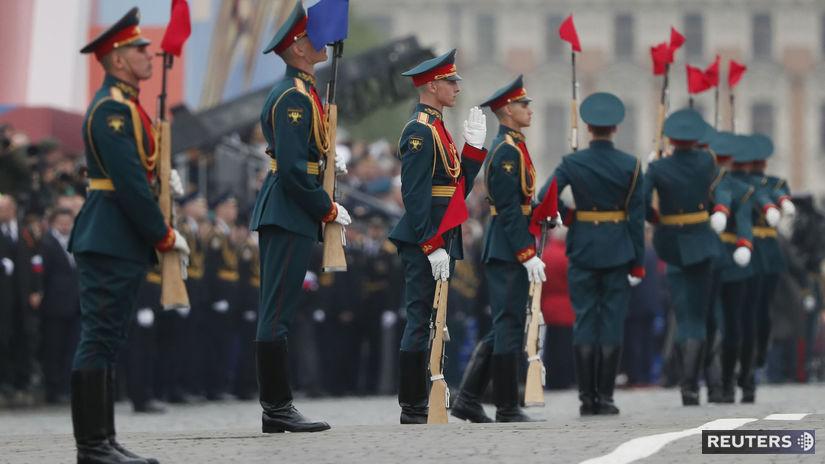 prehliadka, rusko, vojenská, vojaci