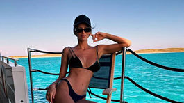 Topmodelka Michaela Kocianová na zábere z Instagramu.