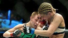 UFC MMA VanZant Namajunas
