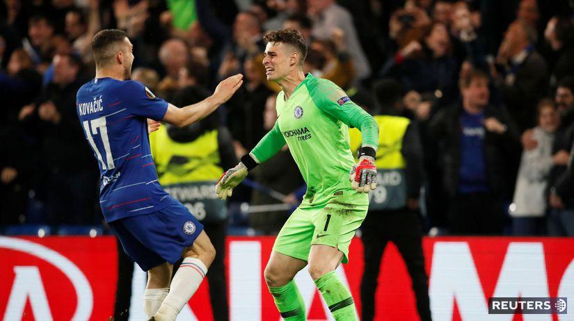 Arrizabalaga Chelsea futbal