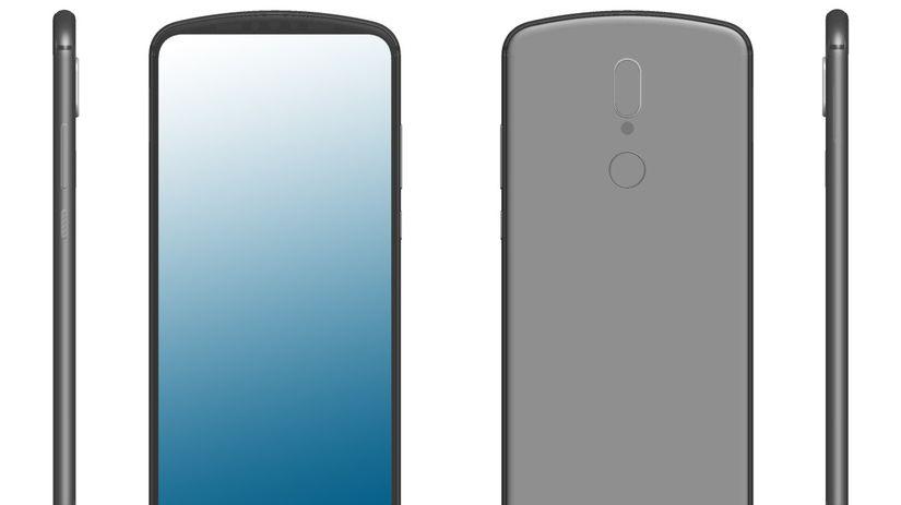 Huawei, smartfón, výrez v displeji