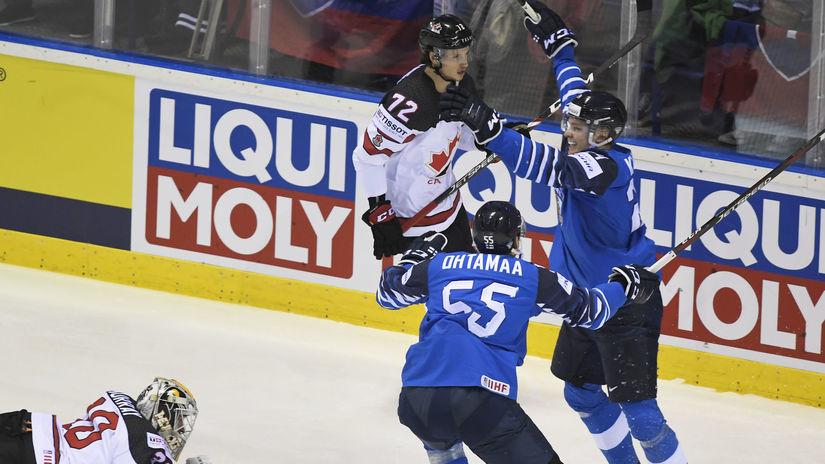 SR Košice MS2019 Hokej A Fínsko Kanada Kakko