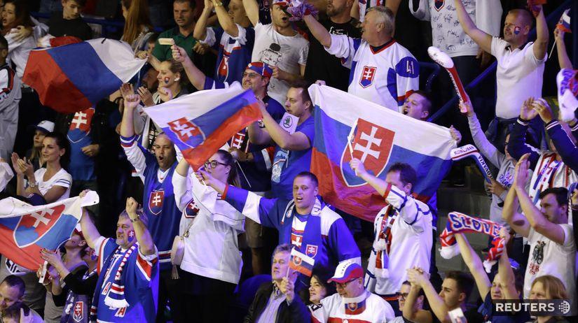 slovensko fans hokej