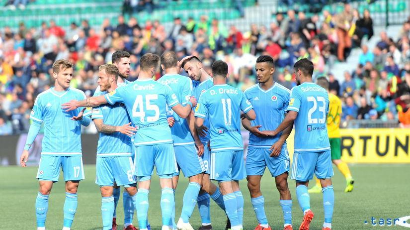 SR Futbal FL Nadstavba Titul Žilina Slovan ZAX