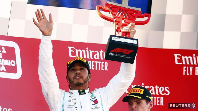 Hamilton F1 Mercedes