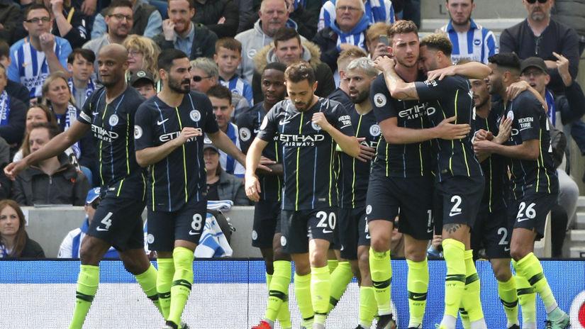 Laporte Manchester city futbal