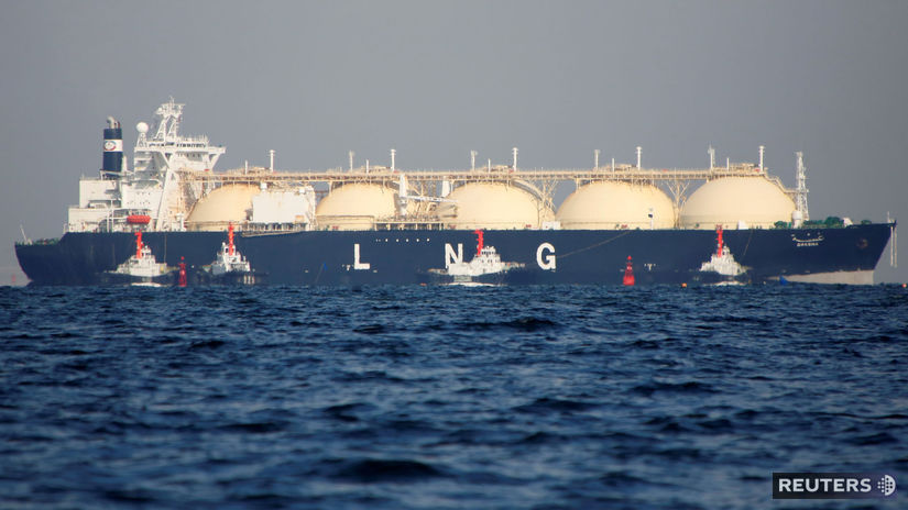 LNG, skvapalnený plyn, loď, tanker