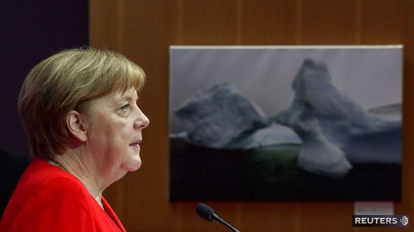 angela merkelová, berlín, klimatická konferencia