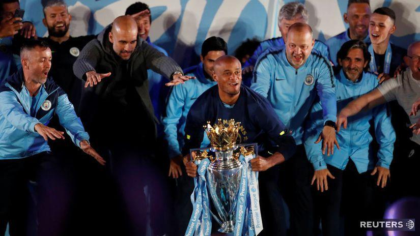 Futbal Guardiola Manchester City