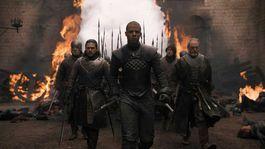 hra o tróny, game of thrones, sivý červ, jon, davos,