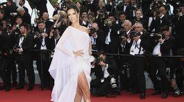 Modelka Alessandra Ambrosio vyzerala očarujúco.