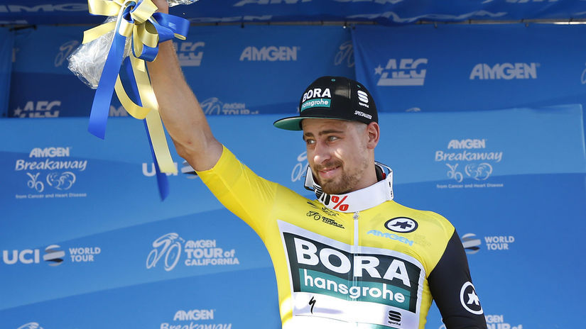 Sagan cyklo USA Kalifornia