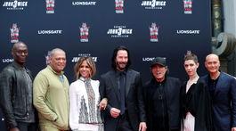 Herci z filmu John Wick: Kapitola 3 sa stretli v Los Angeles.