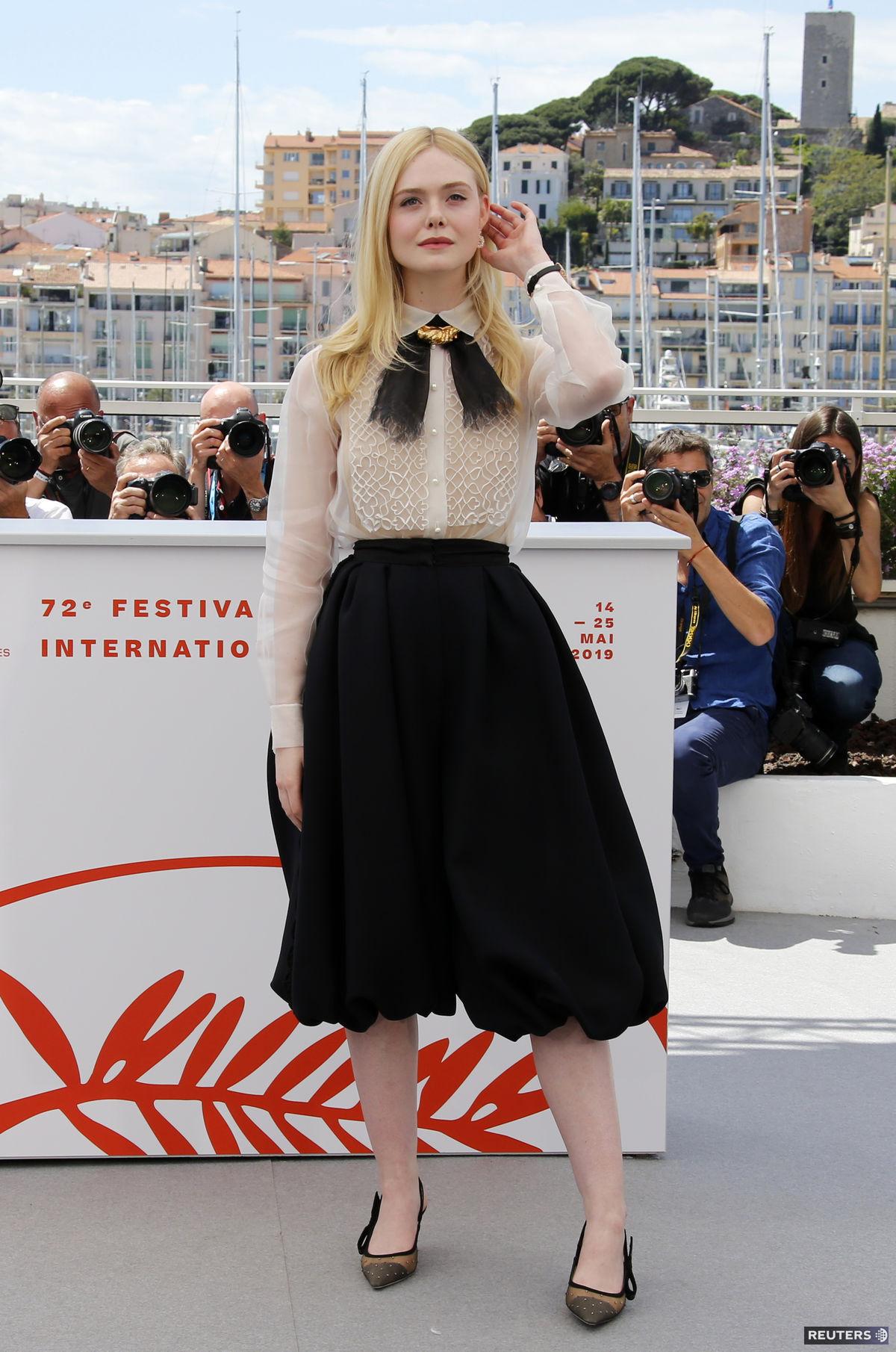 Herečka a členka poroty na festivale v Cannes...