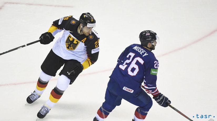 SR Košice MS2019 Hokej A Nemecko Draisaitl