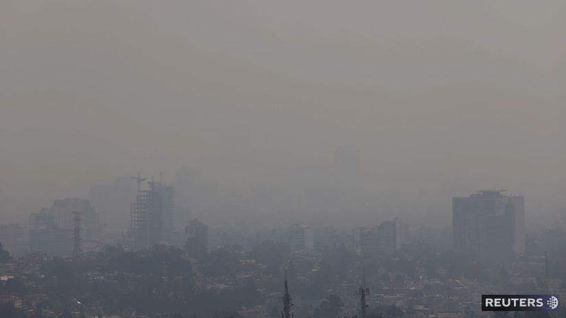 Mexiko / znečistenie ovzdušia /