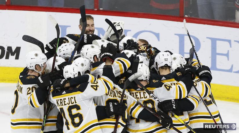 Boston, hokej, radosť