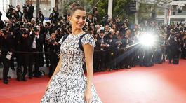 Herečka Penelope Cruz vyzerala úchvatne v kreácii Chanel Haute Couture.
