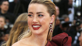 Hollywoodska herečka Amber Heard.