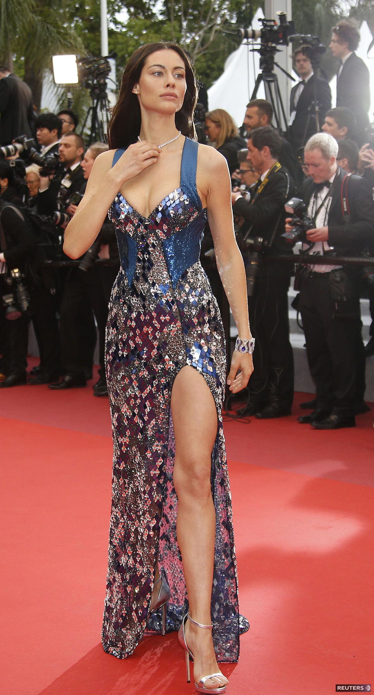 Modelka a moderátorka Marica Pellegrinelli sa...