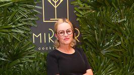 Na otvorenie baru sa prišla pozrieť aj herečka Michaela Čobejová.