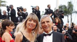 Nagui a jeho manželka Melanie Page.