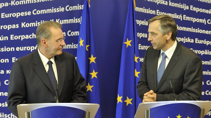 Jacques Rogge at the EC, PR článok, reklama,...