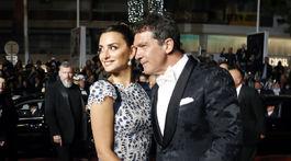 Herečka Penelope Cruz a jej kolega Antonio Banderas.