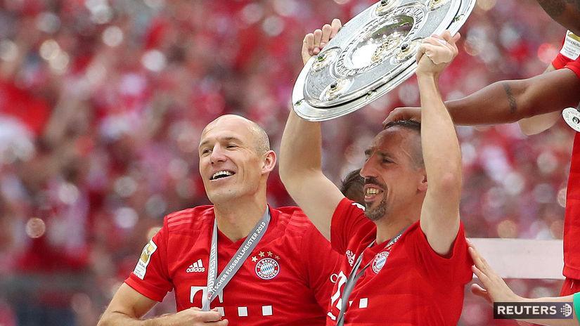 Arjen Robben, Franck Ribéry