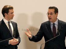 Heinz-Christian Strache / Sebastian Kurz /