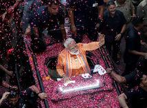 India / parlamentné voľby / Naréndra Módí /