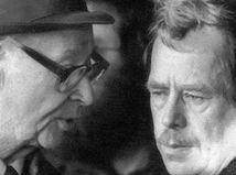 Alexander Dubček / Václav Havel /