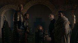 hra o tróny, game of thrones, tyrion, davos, brienne, sam, bronn,