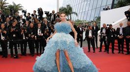 Modelka Alina Baikova v kreácii Zuhair Murad Haute Couture.