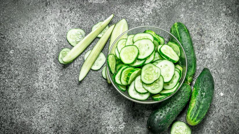 uhorky, šalát, zelenina, uhorka