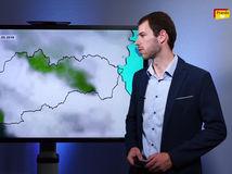 Videopredpoveď: Búrky a poriadne mokrý utorok