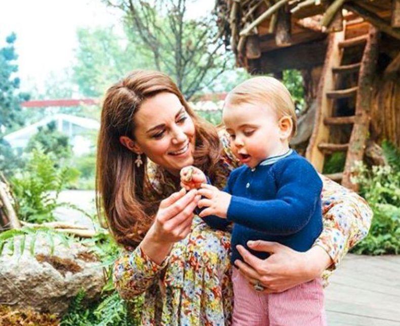 vojvodkyňa Kate, Louis