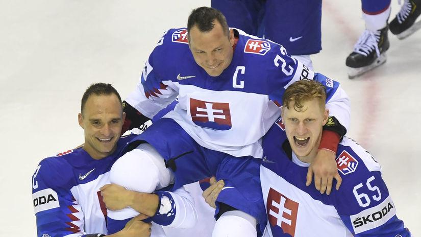Andrej Sekera, Ladislav Nagy, Michal Čajkovský