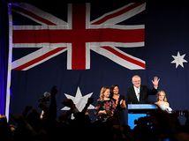 Austrália / parlamentné voľby / Scott Morrison