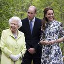 Krásna Kate má dôvod na žiarivý úsmev. S týmto očarila aj samotnú kráľovnú!