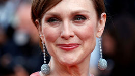 Herečka Julianne Moore na filmovej premiére v Cannes.