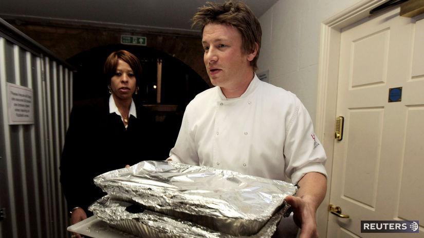 Jamie Oliver / reštaurácia /