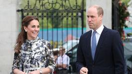 Princ William s manželkou - vojvodkyňou Kate