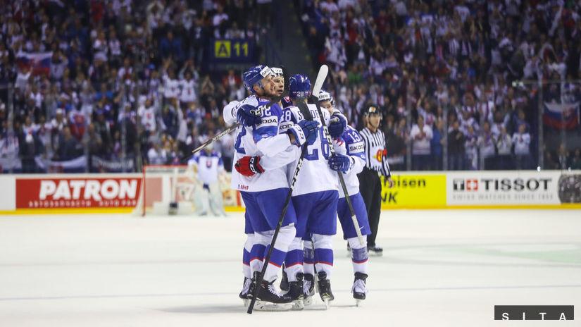 slovenskí hokejisti, radosť