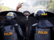 Indonézia / Jakarta / nepokoje /